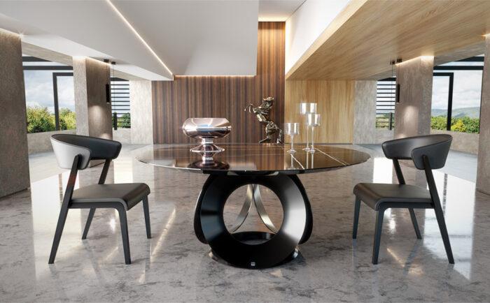 Dinner table rotunda Chic   Noto Mobili