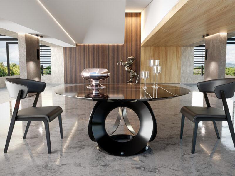Dinner table rotunda Chic | Noto Mobili